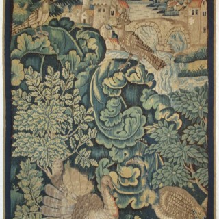 A feuilles d'aristoloche tapestry panel