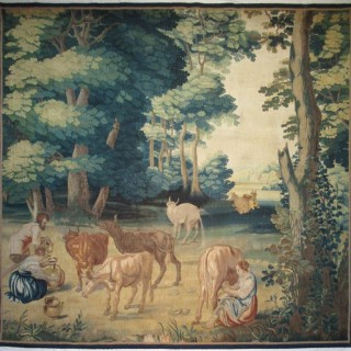 A 17th century tapestry panel