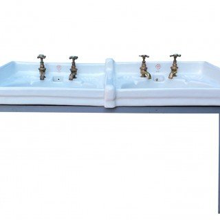 "A John Bolding ""Ondo"" Double Wash Basin"