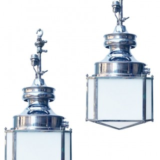Two Sugg Rochester Pendant Lamps