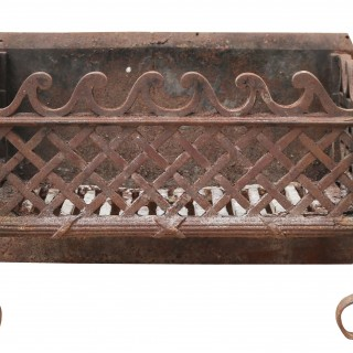 An Antique Georgian Style Fire Grate