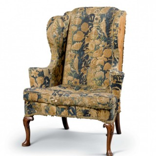 THE VIVIEN LEIGH COLLECTION Tapestry Wing-Back Armchair