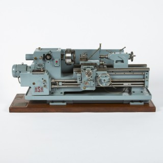 1/5TH SCALE EXHIBITION MODEL OF A DSG LATHE