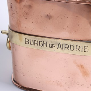 Set of Chekpumps made for the Burgh of Airdrie, 1930.
