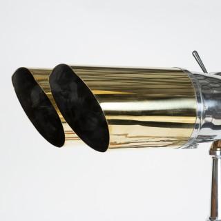 WWII tripod mounted 20 x 120 binoculars made by Nikko -Nikon