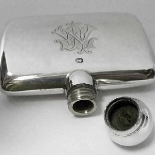 Victorian Silver Scent Flask