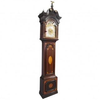 Victorian Longcase Clock by Sam Robson