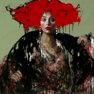 'Scarlet' by Esther Erlich (born 1955)