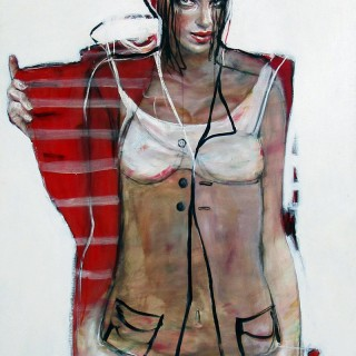 'Undercoat' by Esther Erlich (born 1955)