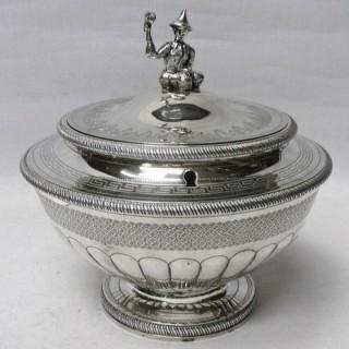 George III Silver Tea Caddy by Peter & William Bateman