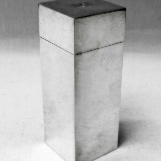 Art Deco Silver Box by Asprey