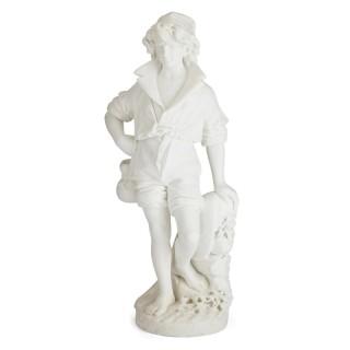 Large Italian marble sculpture by Pietro Bazzanti
