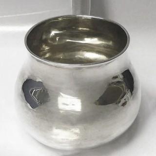 Queen Anne Silver Brandy Saucepan