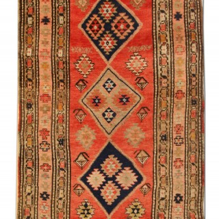Antique Caucasian Carpet from North West of Persia 101x230cm