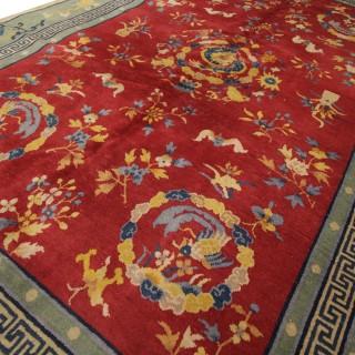 Antique Chinese Carpet 182x270cm