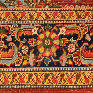 Antique Persian Heriz Rug 260x310cm