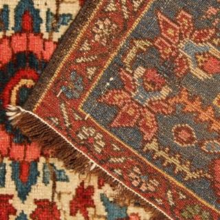 Antique Rug Persian Bakhtiyar Carpet 140x190cm
