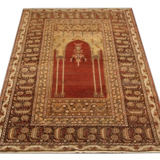 Antique Turkish Rug Anatolian Carpet