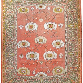 Antique Ushak carpet