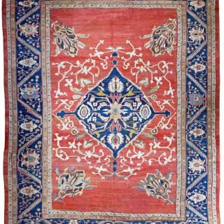 Antique Ziegler carpet