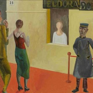 Outside the Eldorado Cinema