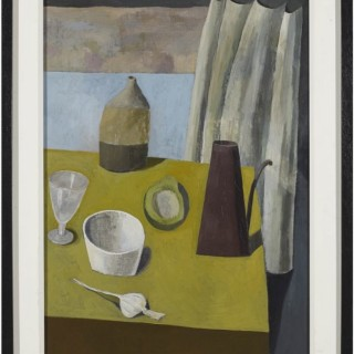 Still Life with a Curtain