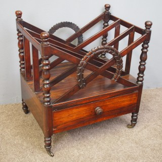 Early George IV Rosewood Canterbury