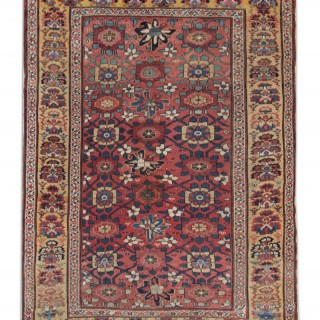 Antique Persian Zielger Mahal Rug