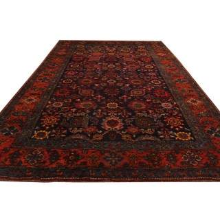 Rare Antique Primitive Bidjar Rug 240x139cm