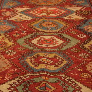 Rare Antique Kazak Rug