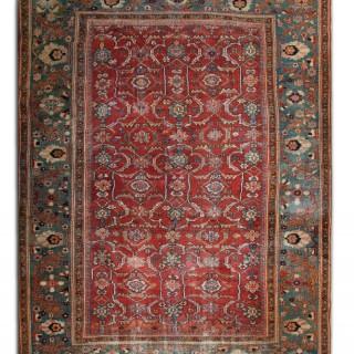 Antique Mahal Carpet, Persia