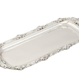 Sterling Silver Snuffer/Pen Tray - Antique George III