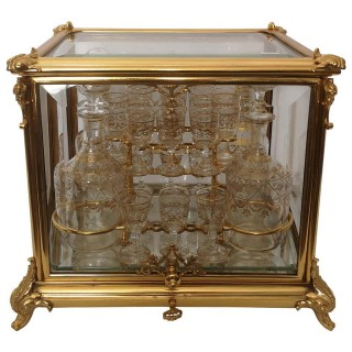 19th Century French Gilt Bronze Cave A Liqueur By Tahan Of Paris