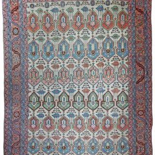 Rare Antique Bakshaish carpet