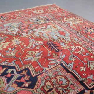 Early Heriz carpet