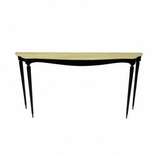 A LARGE ITALIAN MID CENTURY CONSOLE TABLE
