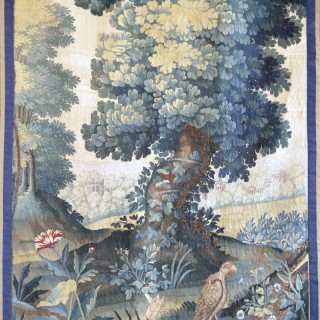 A 17th century French tapestry panel, probably woven in Paris