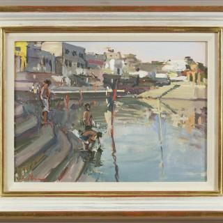 Bathers, Pushkar Holy Lake, Rajasthan
