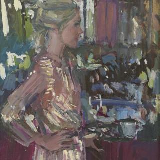 'At the Bar' by Luke Martineau (born 1970)