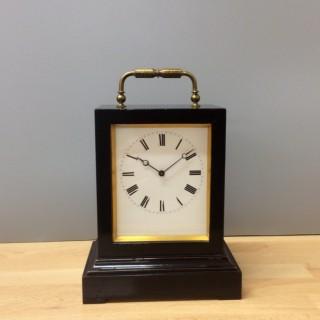 French Ebonised Carriage Clock