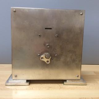 Art Deco Chrome Mantel Clock