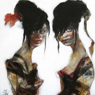 'Besties' by Esther Erlich (born 1955)
