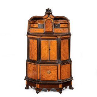 A rare and unusual Indian cupboard made for the Dutch or English market