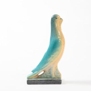 Ceramic pigeon by Geneviève Granger