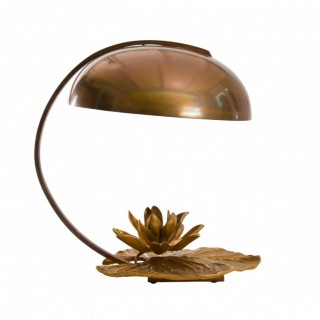 Chrystiane Charles nenuphar coupelle desk lamp