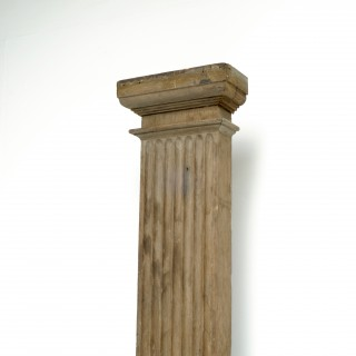 Single Oak Pilaster