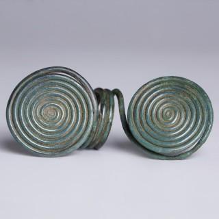 Celtic Bronze Age Spiral Ring