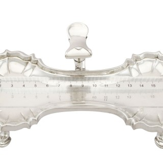Sterling Silver Snuffer Tray by John Cafe - Antique George II (1751)