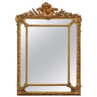 Fine 19th Century Gilt Wall Mirror