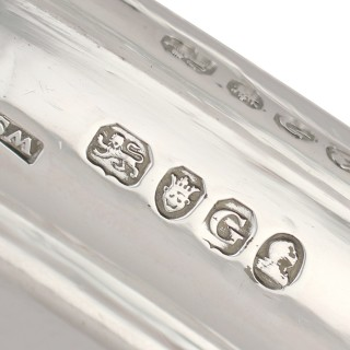 Sterling Silver Tray - Antique George III (1802)